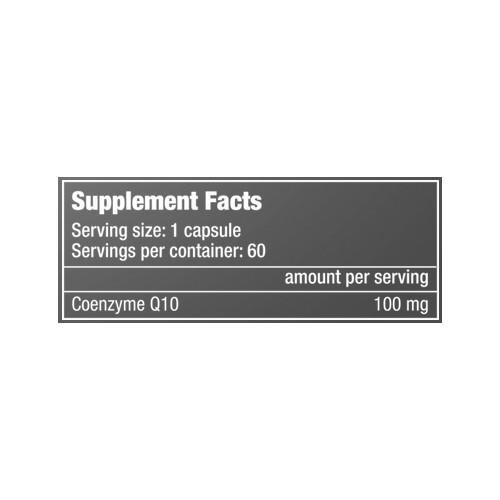 Q10 Coenzyme 60 Caps.