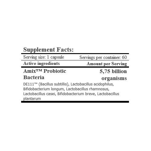 PROBIO FORTE (Probioticos) 60 Vcaps AMIX