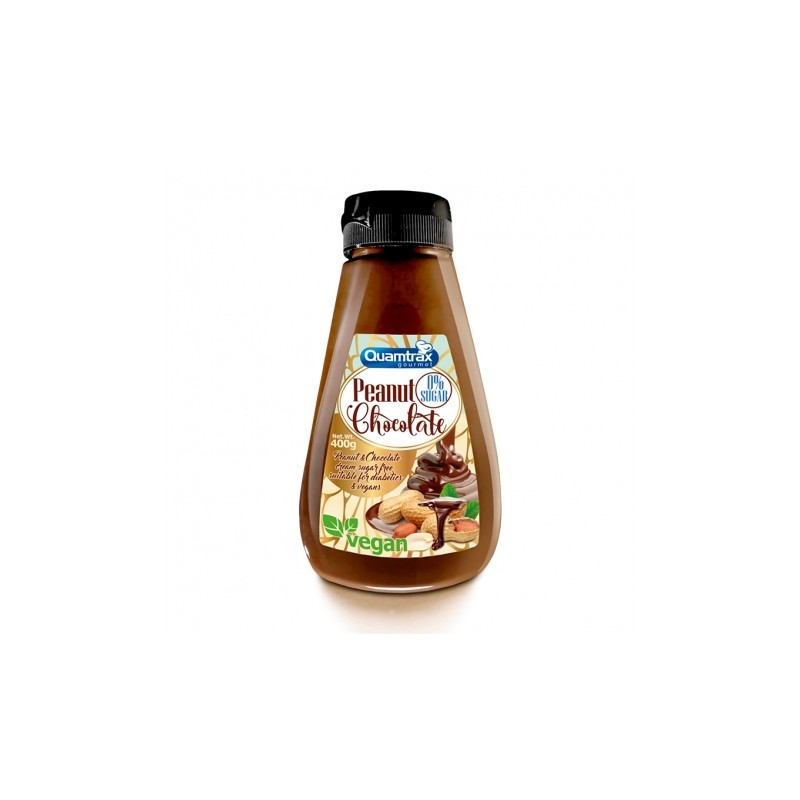 Crema de Cacahuete y Chocolate 400 GRS