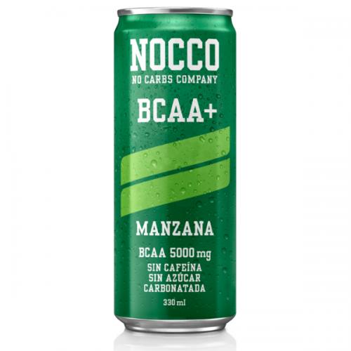 NOCCO 330ML MANZANA SIN CAFEINA