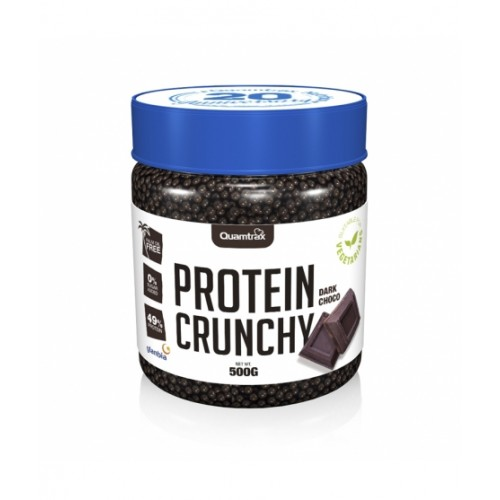 PROTEIN CRUNCHY CHOCOLATE NEGRO 500GRS