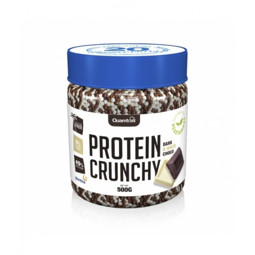 PROTEIN CRUNCHY CHOCOLATE BLANCO Y NEGRO 500GRS