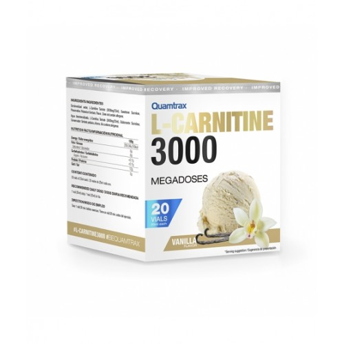 L-CARNITINE 3000 20 VIALES DE 25ML