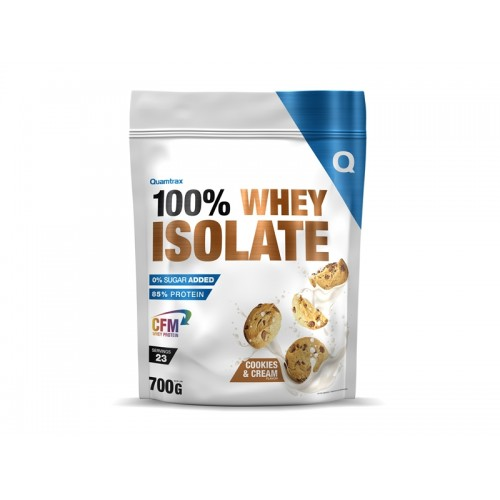 100% WHEY ISOLATE 700GRS QUAMTRAX