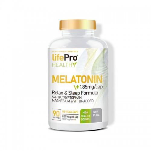 MELATONINA + 5HTP + TRYPTOPHAN + MAGNESIO + B6 90 VCAPS LIFE PRO