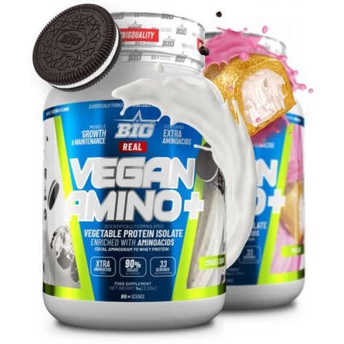 REAL VEGAN AMINOPLUS 1KG BIG