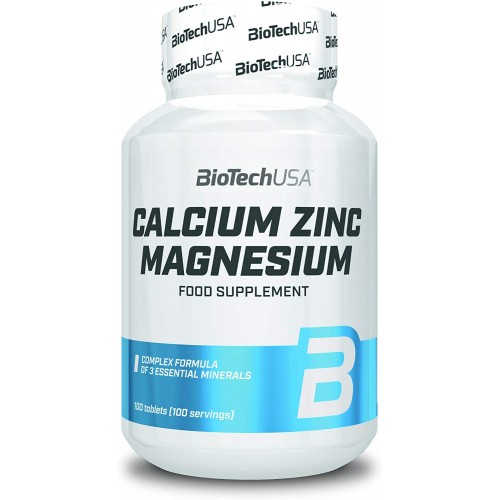 Calcium Zinc Magnesium 100 Comp.