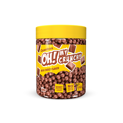 OH MY CRUNCHY CHOCOLATE CON LECHE 400 GRS