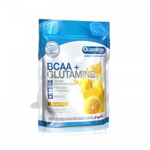 BCAA 2:1:1 + Glutamine Powder 500 grs